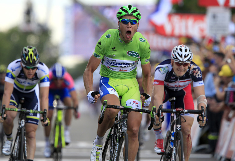 Peter Sagan s okuliarmi RUDY PROJECT